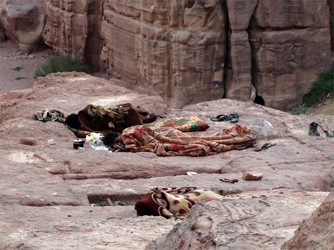 Бедуины Петры