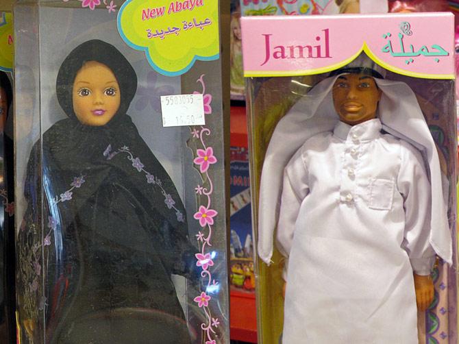 Арабские Кен и Барби
