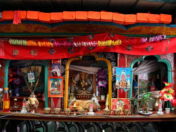 Буддистский иконостас