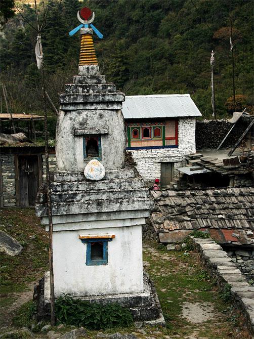 Буддистский чортен
