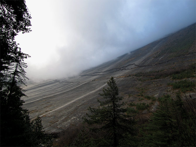 Плоская скала