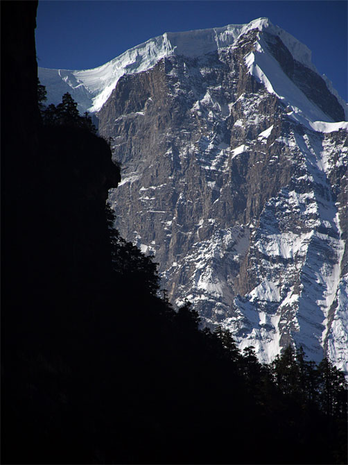 Ледник на вершине