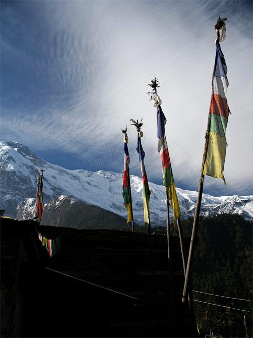 Тибетские флаги