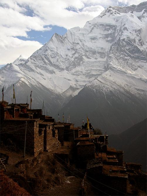Гималайская деревня