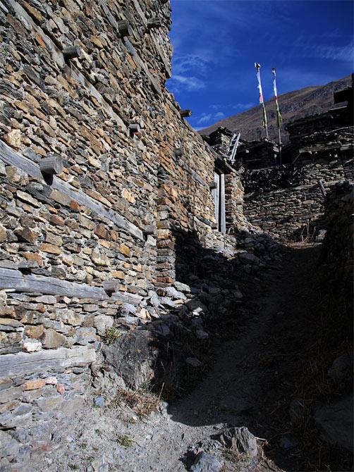 Улочка Верхнего Писанга