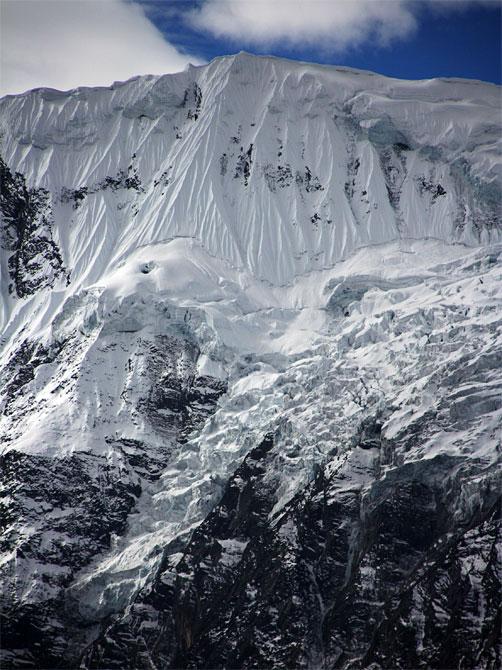 Ледник в Гималаях