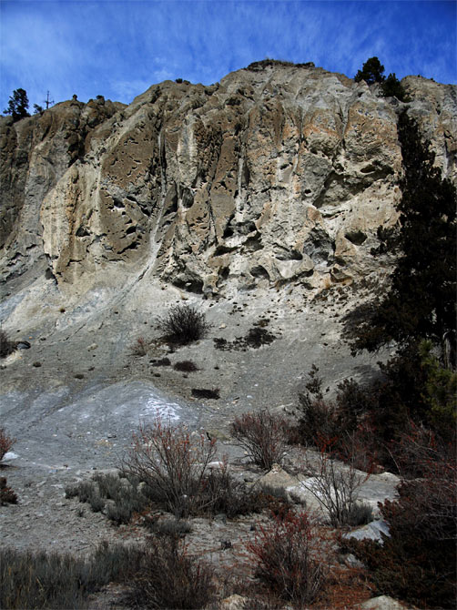 Песчаная скала