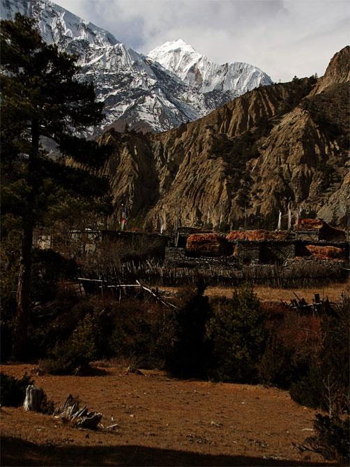 Гималайская деревенька