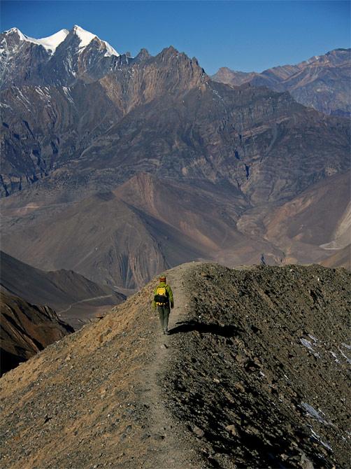 Дорога с перевала