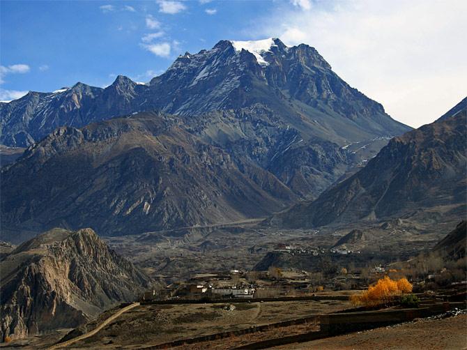 Гималайская осень