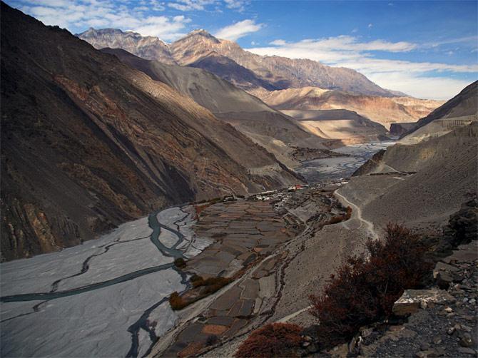 Долина Кали-Гандаки