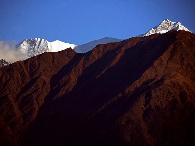 Закатные горы