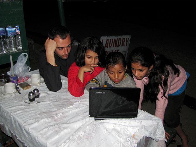 Ильич и дети