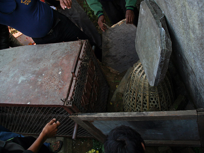 Клетка для леопарда, Непал