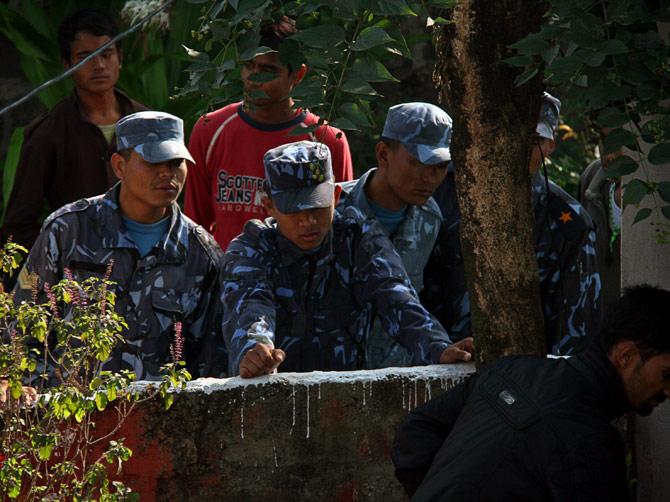 Непальские военнослужащие