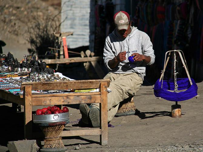 Ручной труд в Непале