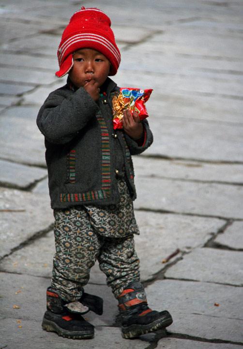 Непальский мальчишка, Аннапурна, Марфа