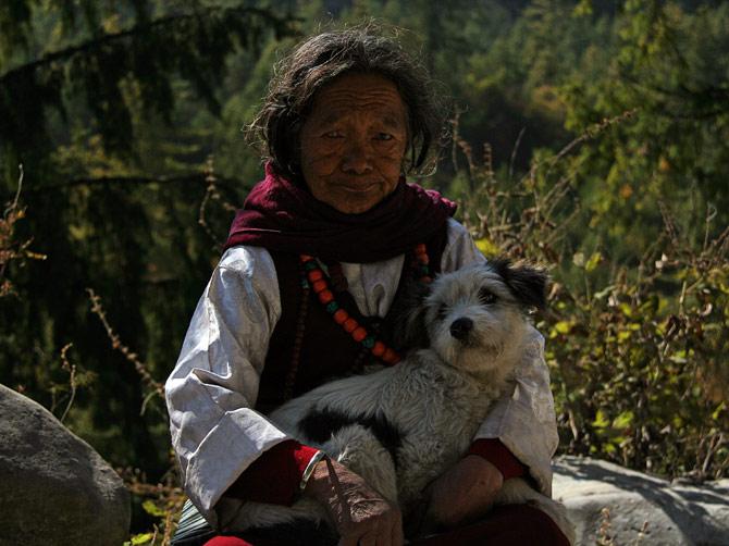 Непальская старуха