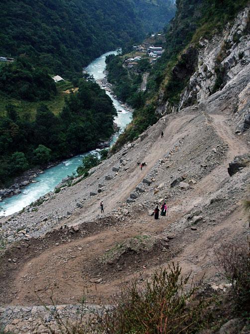 Джагат - трек вокруг Аннапурны, Непал, Гималаи