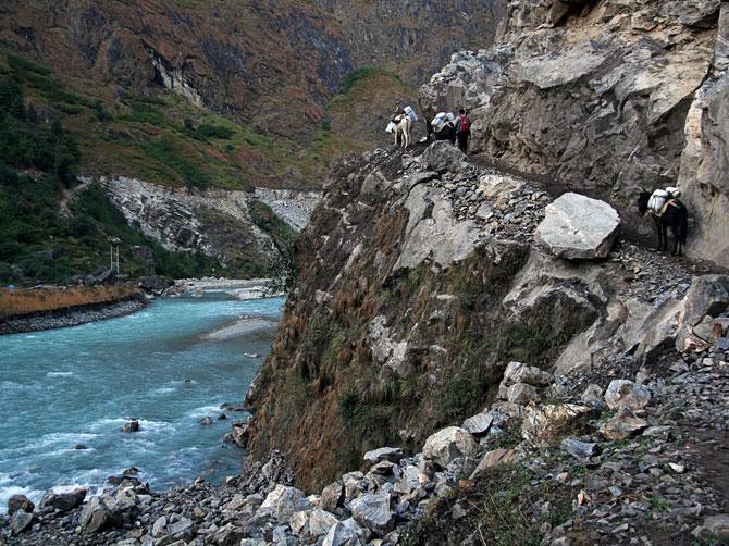 Тал - трек вокруг Аннапурны, Непал, Гималаи