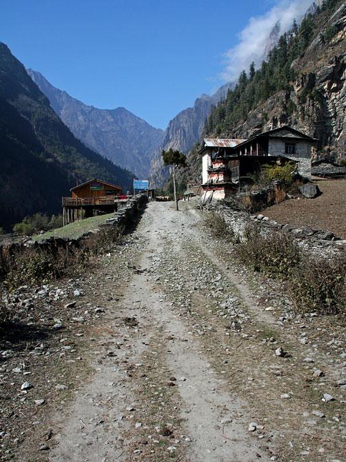 Талеку - трек вокруг Аннапурны, Непал, Гималаи