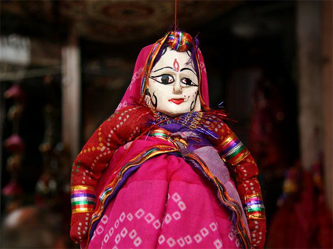 Раджастанская кукла