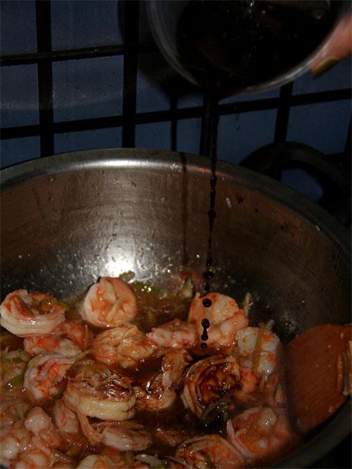 Рецепт жареного риса по-тайски - соус