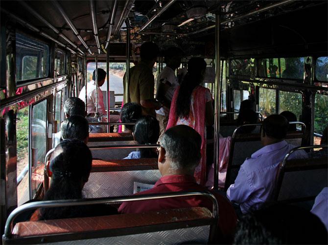 Индийский автобус