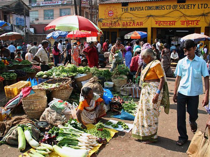 Рынок в Мапсе, Гоа