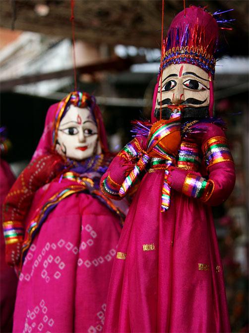 Раджастанские куклы