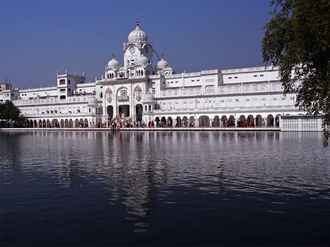 Гурудвара рядом с Золотым храмом