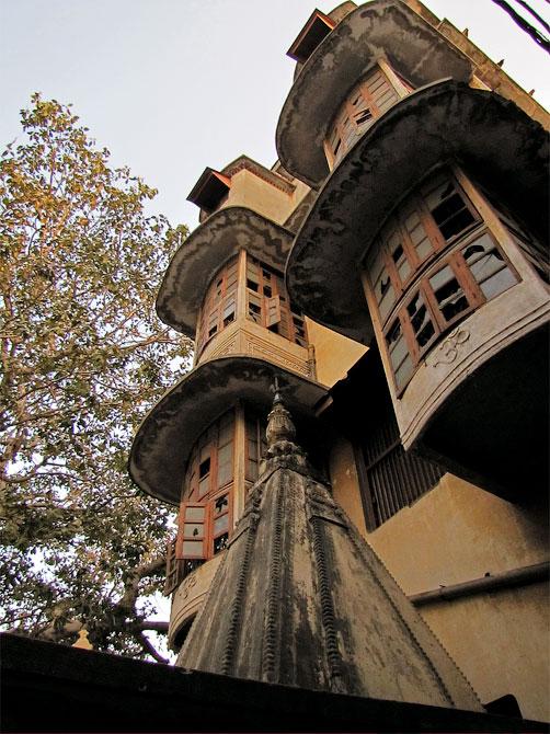 Заброшенный дом в Варанаси, Индия