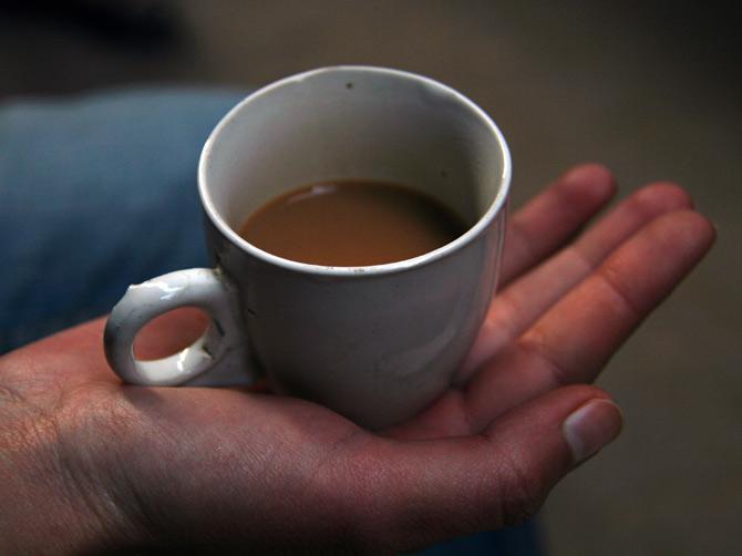 Чашка масала-чая, Варанаси, Индия