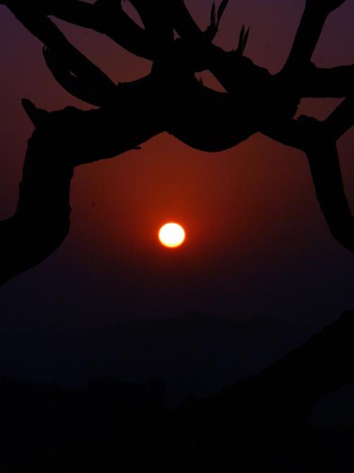 Рассвет в Хампи, Индия