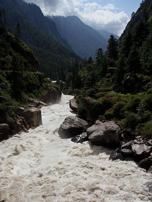 Долина реки Парвати, Индия