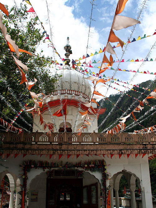 Сикхский храм, Маникаран, Индия