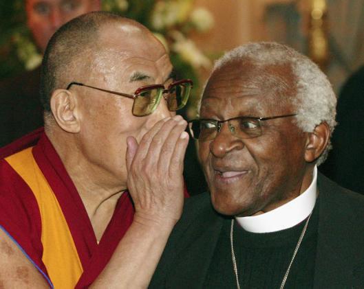 Далай-лама XIV и архиепископ Дезмод Туту