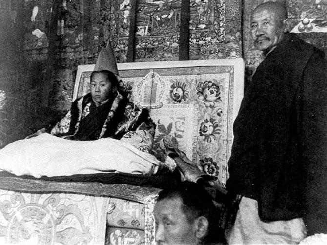 Далай-лама XIV Нгагванг Ловзанг Тэнцзин Гьямцхо в юности