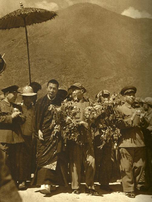 Далай-лама XIV, начало 50-х годов 20 века