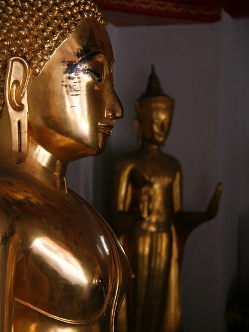 Статуи Будды в Бангкоке, Таиланд
