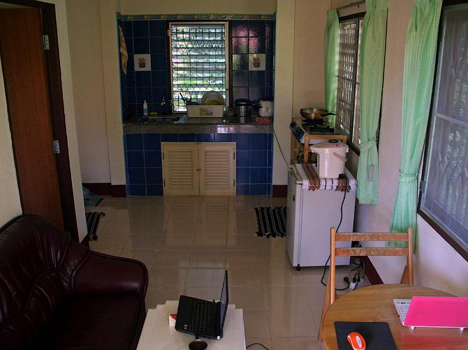 Гостиная нашего дома в Ао Нанге