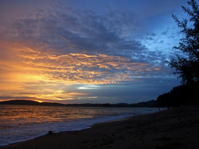 Закат в Ао Нанге, Таиланд