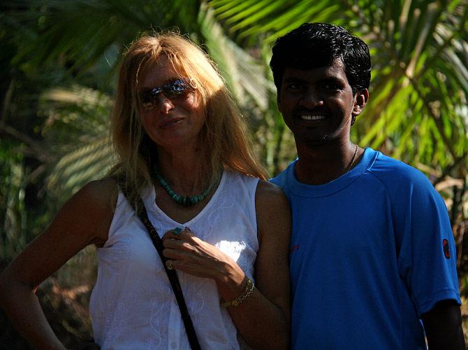 Ира и Манжу, Гоа, Индия