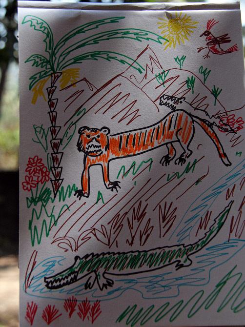 Рисунок Манжу, Гоа, Индия
