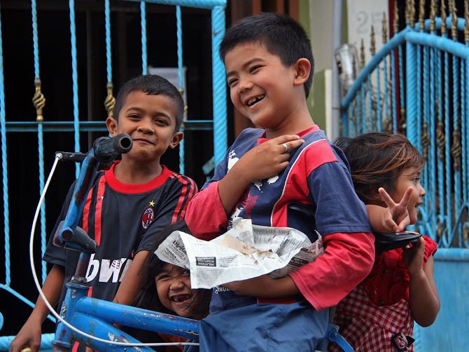 Такенгонская детвора, Суматра, Индонезия