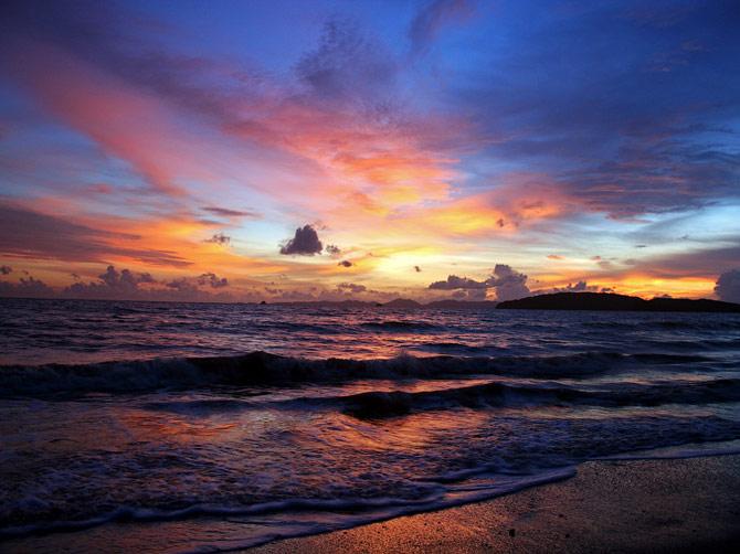 Закат над Андаманским морем