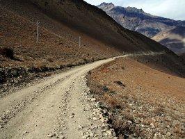 На выходе из деревни Муктинат, Непал