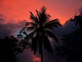 Закат на острове Ве