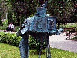 Скульптура фотографа
