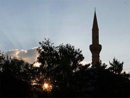 Силуэт мечети